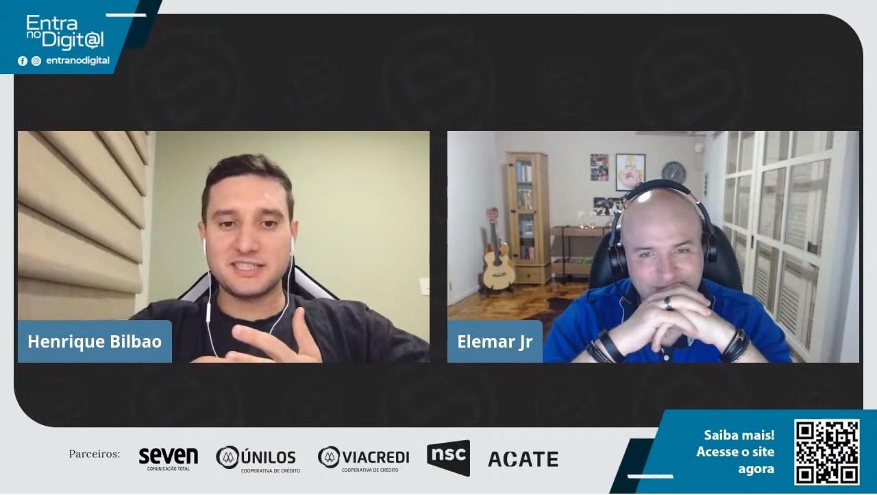"""Vídeo da discussão """"No futuro, todas as empresas serão de tecnologia"""", no canal da Blusoft"""